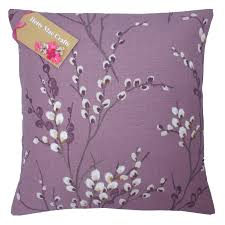 Laura Ashley Bedroom Furniture Ebay Hand Made Laura Ashley Pussy Willow Grape Purple Cushion Cover In