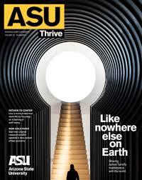 Asu Graphic Design Asu Magazine Magazine Design Arizona State Magazine