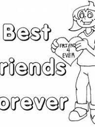 Bff Kleurplaten Voor Jou En Je Beste Vriendin Topkleurplaatnl