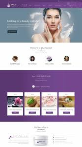 Hair Saloon Websites Beautifully Designed Salon Websites 120 Best Beauty Spa Hair Salon