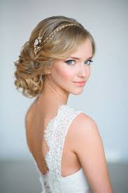 Hairstyles For Weddings 2015 20 Elegant Wedding Hairstyles With Exquisite Headpieces Tulle