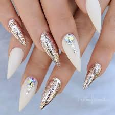 70 Favorite Wedding Nail Art Designs Ideas - BiteCloth.com