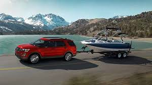 2017 Ford Towing Chart The 2017 Ford Explorer Is Exceeds Your Towing Needs