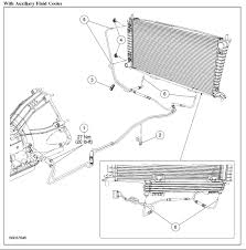 ford f150 f250 transmission leaks what causes ford trucks 4r75e w transmsission cooler line diagram