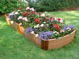 flower garden design. Raised Bed Flower Garden Design