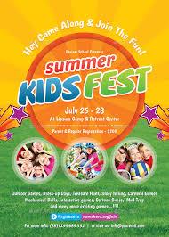50 Best Kids Summer Camp Flyer Print Templates 2018 Work Ideas