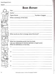 Free Book Writing Templates For Word Love To Teach Book Report Worksheet Teacher Student And Parent 16
