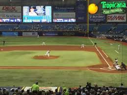 Tropicana Field Section 109 Home Of Tampa Bay Rays