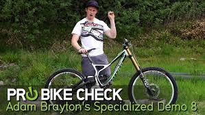 Pro Bike Check: Adam Brayton's Hope Factory Racing Specialized S-Works Demo  8 - Mountain Biking Videos - Vital MTB