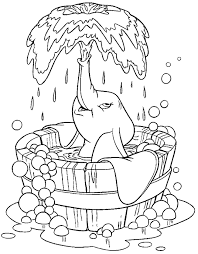 Coloring Pages Dumbo Gifs Pnggif