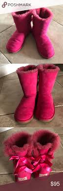 Ugg Bailey Bows Big Girl Size 5 Womens 7 Popular