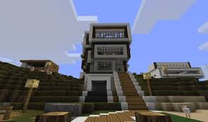 Small Picture Home Design Modern House Plans Minecraft Artists Building