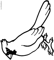 Small Picture Cardinal Color Coloring Coloring Pages