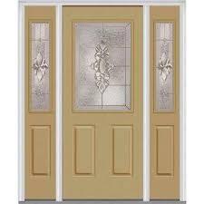 front door with sidelitesSingle door with Sidelites  Steel Doors  Front Doors  The Home