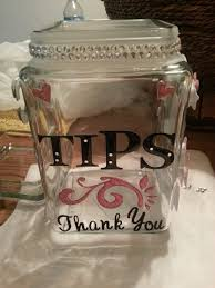 Tip Jar Decorating Ideas