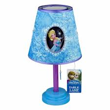 Disney Frozen Light Shade Disney Frozen Table Lamp Toddler Bedroom Playroom Decorative Lighting