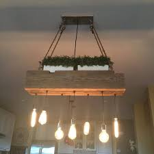 custom reclaimed barn wood beam chandelier wood lamps restaurant bar chandeliers