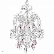 large crystal pendant lighting best of josephine pink crystal beaded white chandelier mini nursery plug in