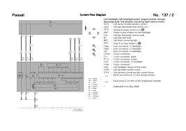 vw passat c bi xenon wiring diagram 8 passat current flow diagram