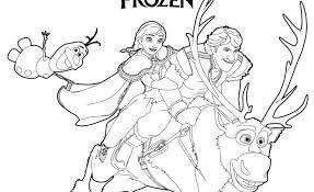 Frozen Cartone Disney Disegni Da Colorare Migliori Pagine Da