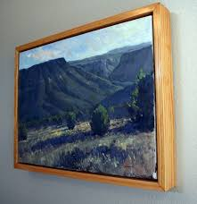 do you frame canvas art do you have a lot of plein air paintings in your