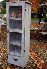 Bathroom Pantry Cabinet Wooden Furniture Pie Safe Cabinet Storage Shelf Handmade