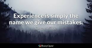Life Experience Quotes Awesome Experience Quotes BrainyQuote