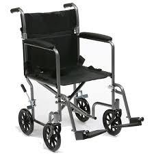 Silla de ruedas barata y plegable para personas mayores de uso ocasional