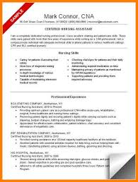 Free Cna Resume Templates Awesome Cna Resume Example ] Cna Resume Examples Cna Resume Examples With
