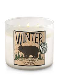 bath and body shop toronto. winter 3-wick candle - bath and body works shop toronto