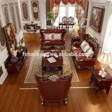 gold living room furniture. luxury antique royal style gold carved wood leather living room furniture sofa set l