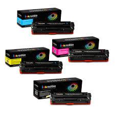 Hp Cb540a Cb541a Cb542a Cb543a Compatible Toner Cartridge Combo Bk C Y M Inkredible Toner 4 Pack 125a