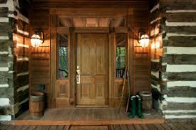 front door lightwoodenfrontporchEntryRusticwithexteriorlightfrontdoor
