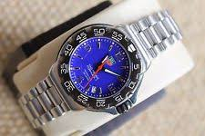 tag heuer professional mens watch tag heuer 2000 wac1212 blue professional formula one watch mens womens midsize