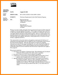 Sample Of Memorandum Letter 10 Sample Of Memorandum Letters Resume Samples