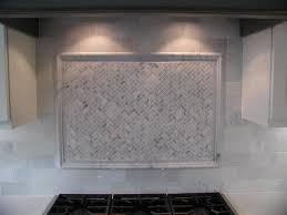subway tile marble backsplash