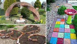 DIY Ideas For Creating Cool Garden Or Yard Brick Projects Amazing Adorable Paver Designs For Backyard Painting