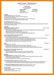 Sorority Resume Template 100 undergraduate student cv template xavierax 80