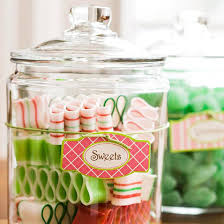 Decorated Candy Jars Holiday Projects for Instant Cheer Glass candy jars Glass candy 26