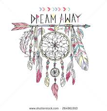 How To Draw A Dream Catcher hand drawn illustration of dream catcher native american poster 60