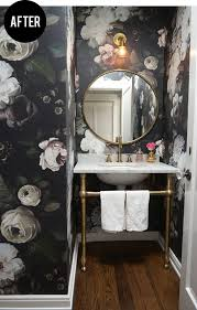 decorating ideas for small powder rooms home bathroom designs add drama added drama mirrored bedroom furniture