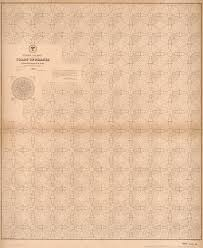 Pilot Chart Of The Coast Of Brazil Library Of Congress