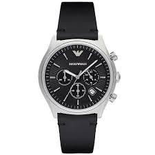 armani watches emporio armani designer watches ernest jones emporio armani men s stainless steel strap watch product number 5085411