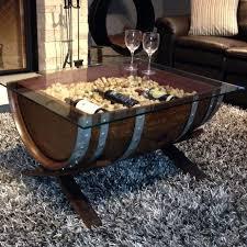 storage oak wine barrels. Custom Made Solid Oak Wine Barrel Coffee Table Storage Barrels E