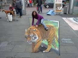 Chalk It Up To Illusion Hyperrealistic 3d Sidewalk Murals