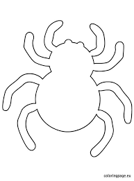 Spider Pattern Printable Best Photos Of Halloween Spider Stencil Halloween Spider