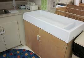 preschool bathroom sink. Diapering Table In Infant Room Preschool Bathroom Sink O