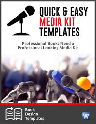 Media Kit Templates For Indie Authors Faqs The Publicity Hound