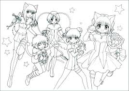 Free Printable Anime Coloring Pages For Adults Of Girl Color Photo