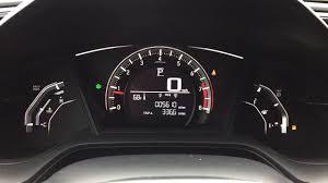 Honda Civic Oil Warning Light How To Reset Oil Life Light 2016 2017 2018 Honda Civic